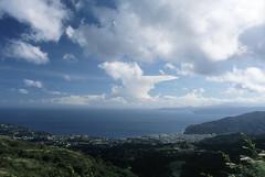 Yugawara (Luno_Luno) Tags: ocean sea sky cloud japan nikkor nikonf kanagawa shizuoka izu preai yugawara 湯河原 trebi100c seisho nikkorhauto28mmf35 nikonphotomicftn hoshigayama 西湘
