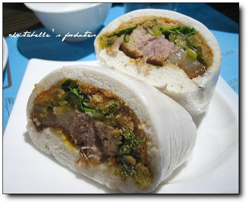 欣葉蔥花之虎咬豬 Taiwanese pork bun