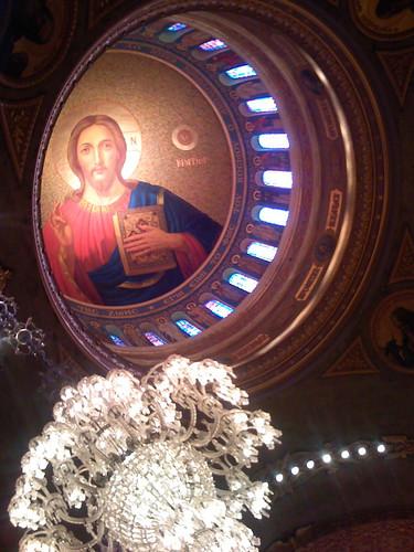 Dome inside St. Sophia