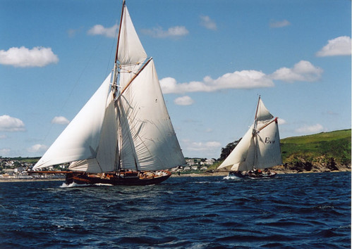 Lizzie May and Eve of St Mawes