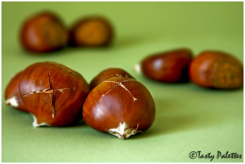 Chestnuts Ready To Be Roasted