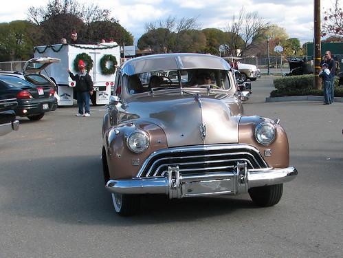 Cars at the holiday parade