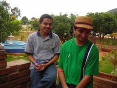 Raghav and Vaibhav (aanjhan) Tags: trekking bangalore rappelling rbin ramnagar chimneyclimbing