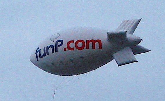 funP 飛船 !