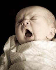 Celeste Yawning