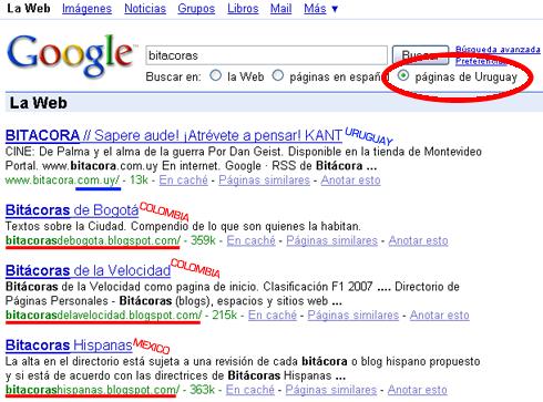 paginasdeuruguaygoogle