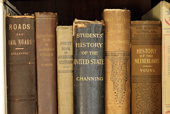 the history of history (Ben McLeod) Tags: history antique books lincoln antiques oldbooks antiquebooks 50mmf14af