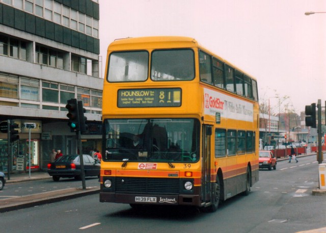 London Buslines 39 (H139 FLX)