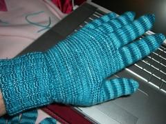 Amanda's Gloves - on