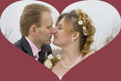 Met Hart 9 (siebe ) Tags: wedding love groom bride mariage liefde huwelijk trouwen bruiloft bruid bruidegom