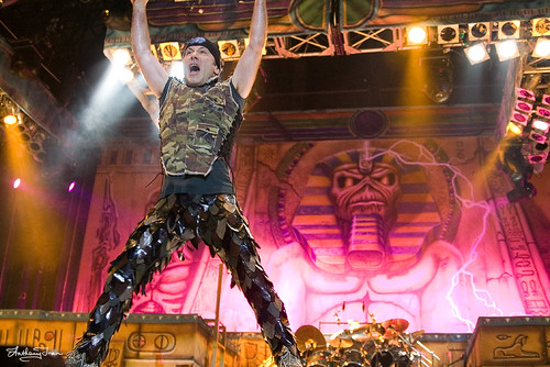 Iron Maiden Febrero 2008 Burswood Dome