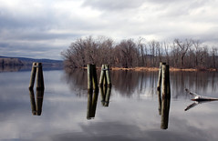 (schummi06514) Tags: reflections river pier dock salmonriver connecticutriver boatlaunch goodspeedoperahouse easthaddam