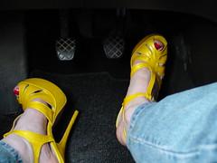 DSC04233 (sandals_6inch) Tags: highheels sandals platform nailpolish opentoe pedalpumping