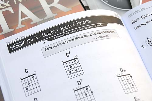 Learn and Master Guitar lesson chapter