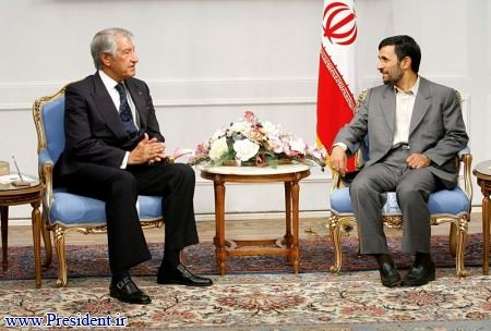 سفیر افغانستان و ریس جمهور ایران