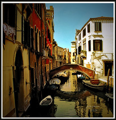 Yes, We Make House Calls (Jerri Johnson (away)) Tags: venice italy house color reflection water yellow architecture boat canal italia shadows apartment artistic expression olympus reflexions venezia panache themoulinrouge artisticexpression flickrsbest golddragon mywinners abigfave platinumphoto colorphotoaward superbmasterpiece diamondclassphotographer flickrdiamond goldstaraward colousvisions thedavincitouch mygearandme