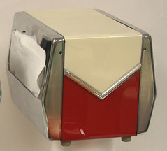 "restored red white diner napkin dispenser SOLD • <a style=""font-size:0.8em;"" href=""http://www.flickr.com/photos/85572005@N00/2311260831/"" target=""_blank"">View on Flickr</a>"