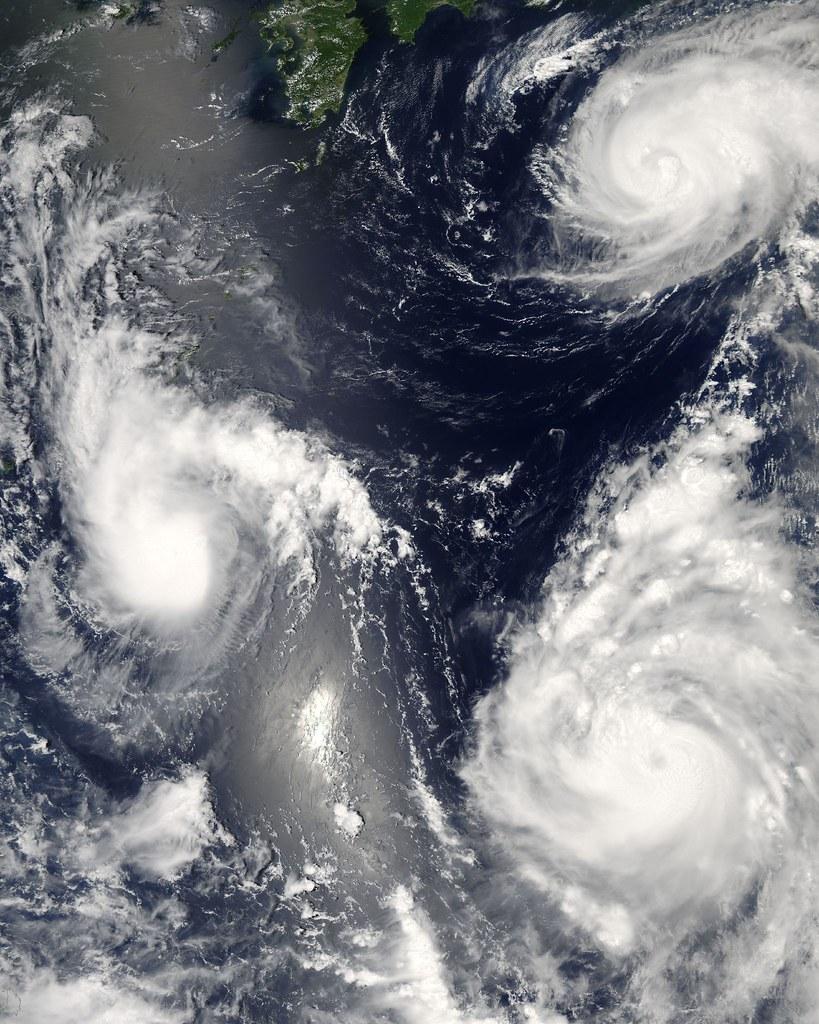 Tornades Pacifique Sud NASA