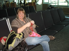 Airport Knitting