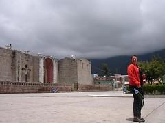 plaza de cabanaconde, peru (^ana^) Tags: peru chivay cabanaconde peruvianimages