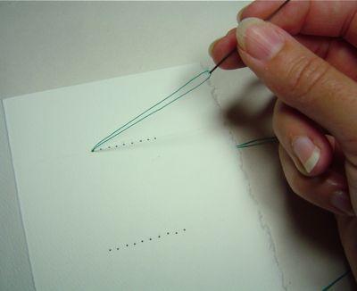 تغليف الكتب بالخيوط طريقة جميلة بالصور خطوى خطوى