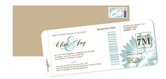 Boarding Passes with Custom Stamps
