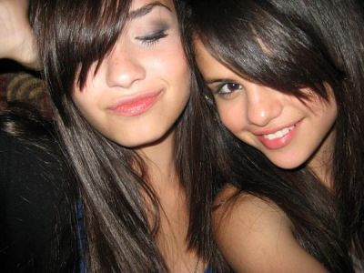 selena gomez and demi lovato. selena gomez and demi lovato.