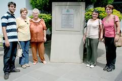 Leandro, Iracy, Mirian, Vera e Nancy