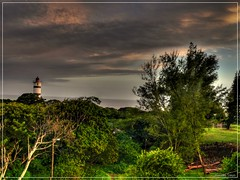 Tugela Mouth Lighthouse (HDR) (hannes.steyn) Tags: ocean lighthouse water clouds lumix fz20 scenery panasonic hdr cloudscape kwazulunatal fpc kzn 3xp tugelamouth interestingness372 i500 enstantane platinumphoto anawesomeshot impressedbeauty hannessteyn explore20080408 i500set1