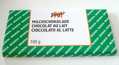 M-Budget Swiss milk chocolate