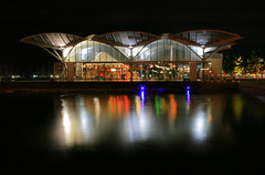 Geelong Carousel (Chris Faithfull) Tags: chris light color reflection water canon eos colorful long exposure waterfront australia carousel victoria geelong faithfull 400d photofaceoffwinner fatefull pfogold