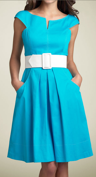Maggy London Sateen Party Dress $118