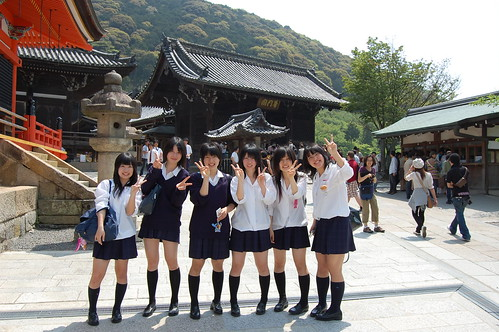 Yes, These Are Japanese Schoolgirls
