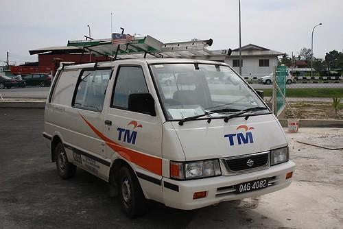 Telekom Malaysia van