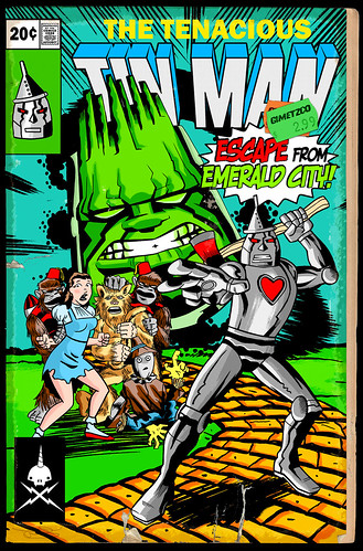 tinman escape from emerald city finished