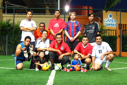 footsie fc team line-up