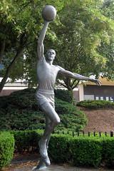Philadelphia - The Spectrum: Julius Erving Statue