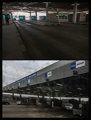Crossing (Melissa Maples) Tags: edirne turkey türkiye asia 土耳其 apple iphone iphone6 cameraphone border bordercrossing passportcontrol bordercontrol kapıkule gate