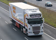 RHZ9931 - Ewing (TT TRUCK PHOTOS) Tags: m5 strensham tt scania ewing fridge