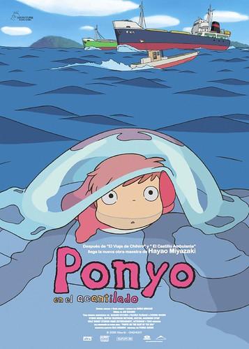 'Ponyo en el acantilado' de Hayao Miyazaki
