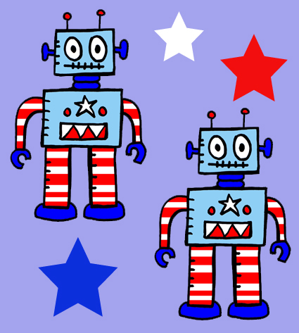 Robot USA wallpaper