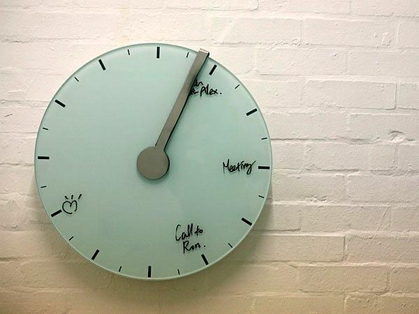 Reloj pizarra