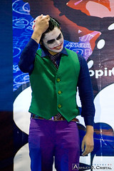 The Joker - Metro Comic Con 2011 Cosplay Contest (adcristal) Tags: hall costume comic cosplay philippines contest sm competition nikond70s convention manila batman joker cosplayer con mcc megamall 80200 ortigas mandaluyong 2011 metrocon thedarkknight nikon80200mmf28 megatradehall megatrade metrocomiccon