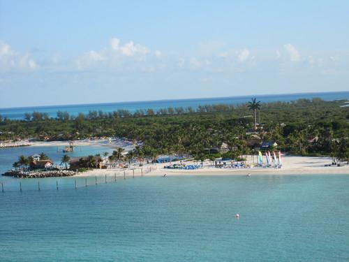 castaway Cay boat beach