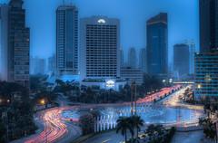 Night shot in Jakarta 2 (SangHoon Pak) Tags: longexposure night canon indonesia jakarta 5d mark2 flickraward flickraward5 flickrawardgallery