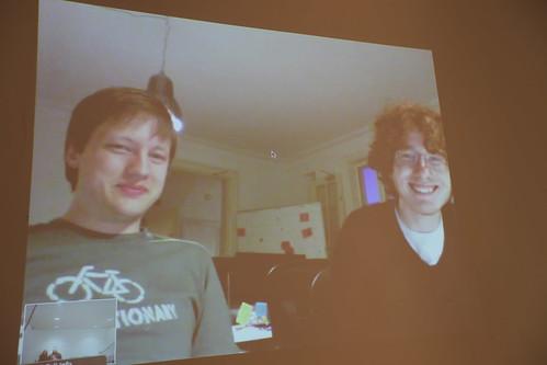Andreas Haugstrup and Nick Barnwell