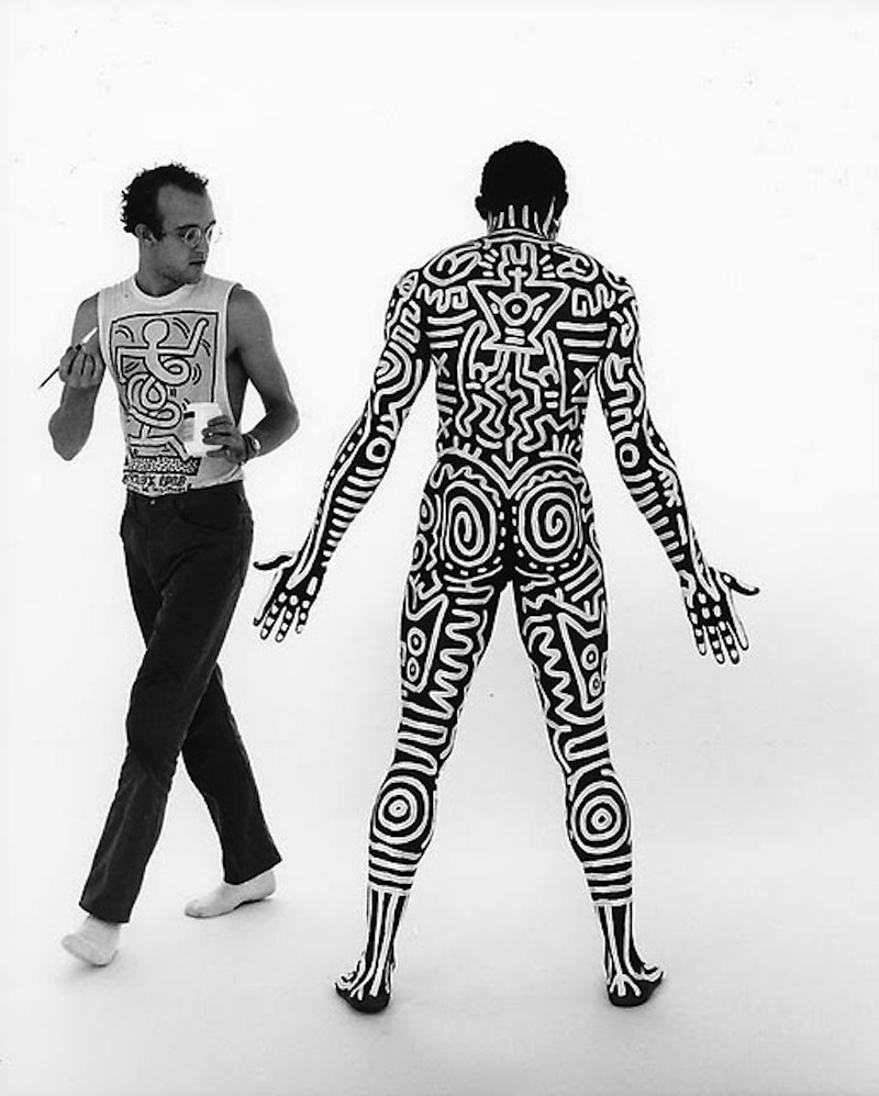 Tseng Kwong Chi Keith Haring Bill T. Jones  001