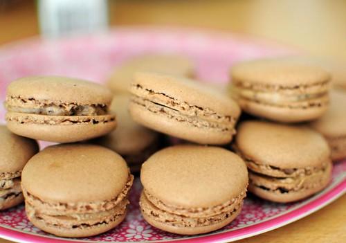 coffee-cocoa-macarons
