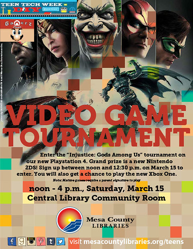 Teen Video Game Tournament 2014