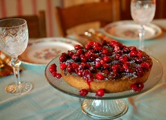 Cranberry, Almond, and Cinnamon Tart (ulterior epicure) Tags: dinner bell kansascity missouri 2007 itsallaboutmartha